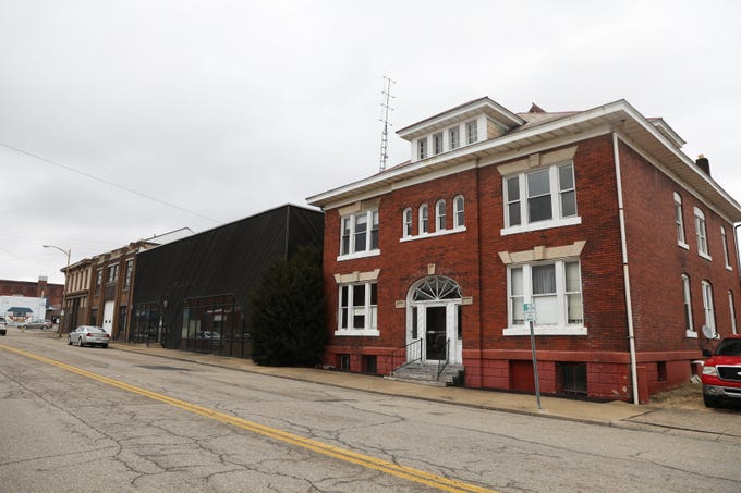The southern end of Third Street in Zanesville will soon be home to the Pearl House.