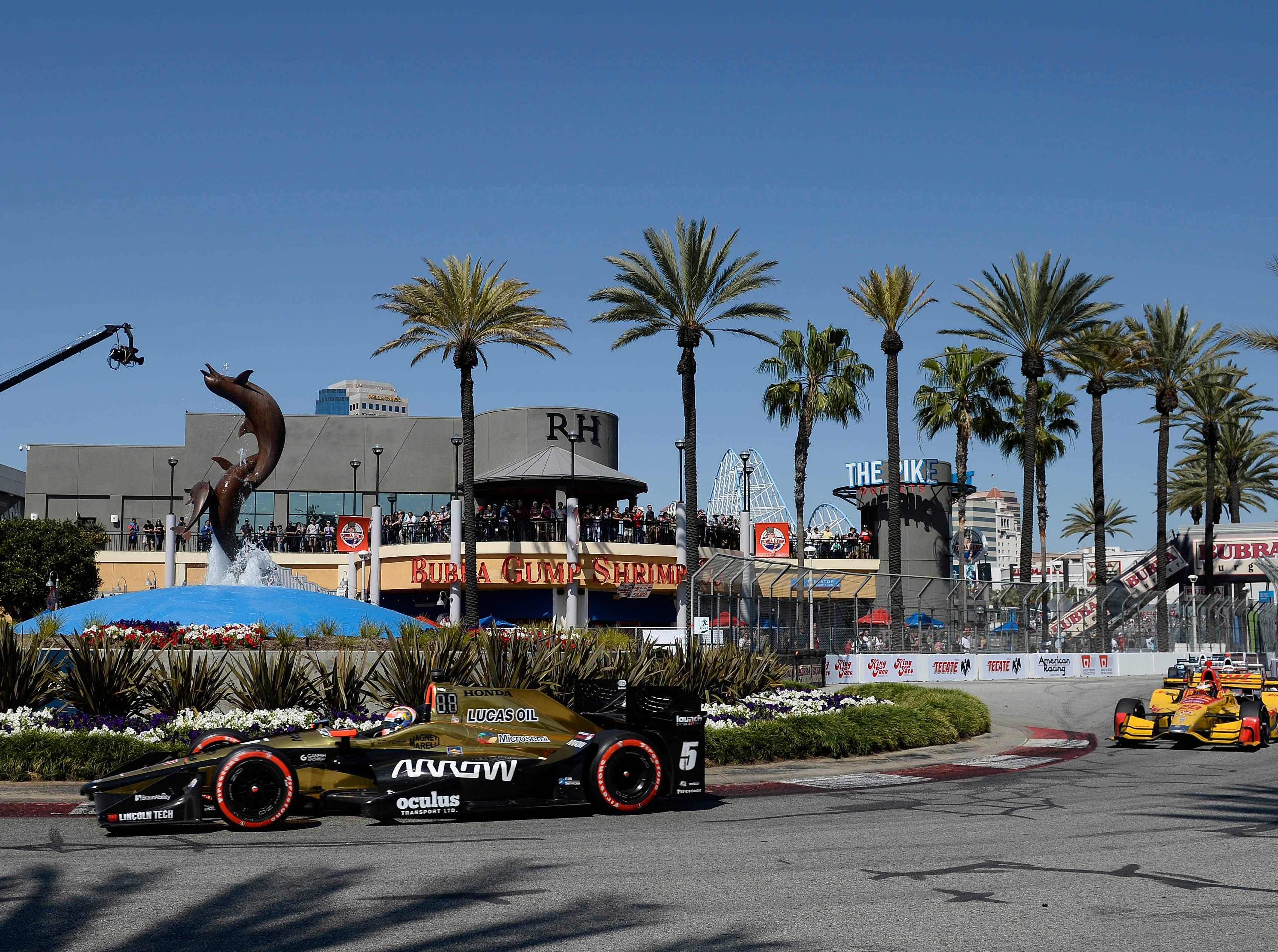 April 14: Acura Grand Prix of Long Beach on the street course in Long Beach, Calif. (4 p.m. ET, NBCSN)