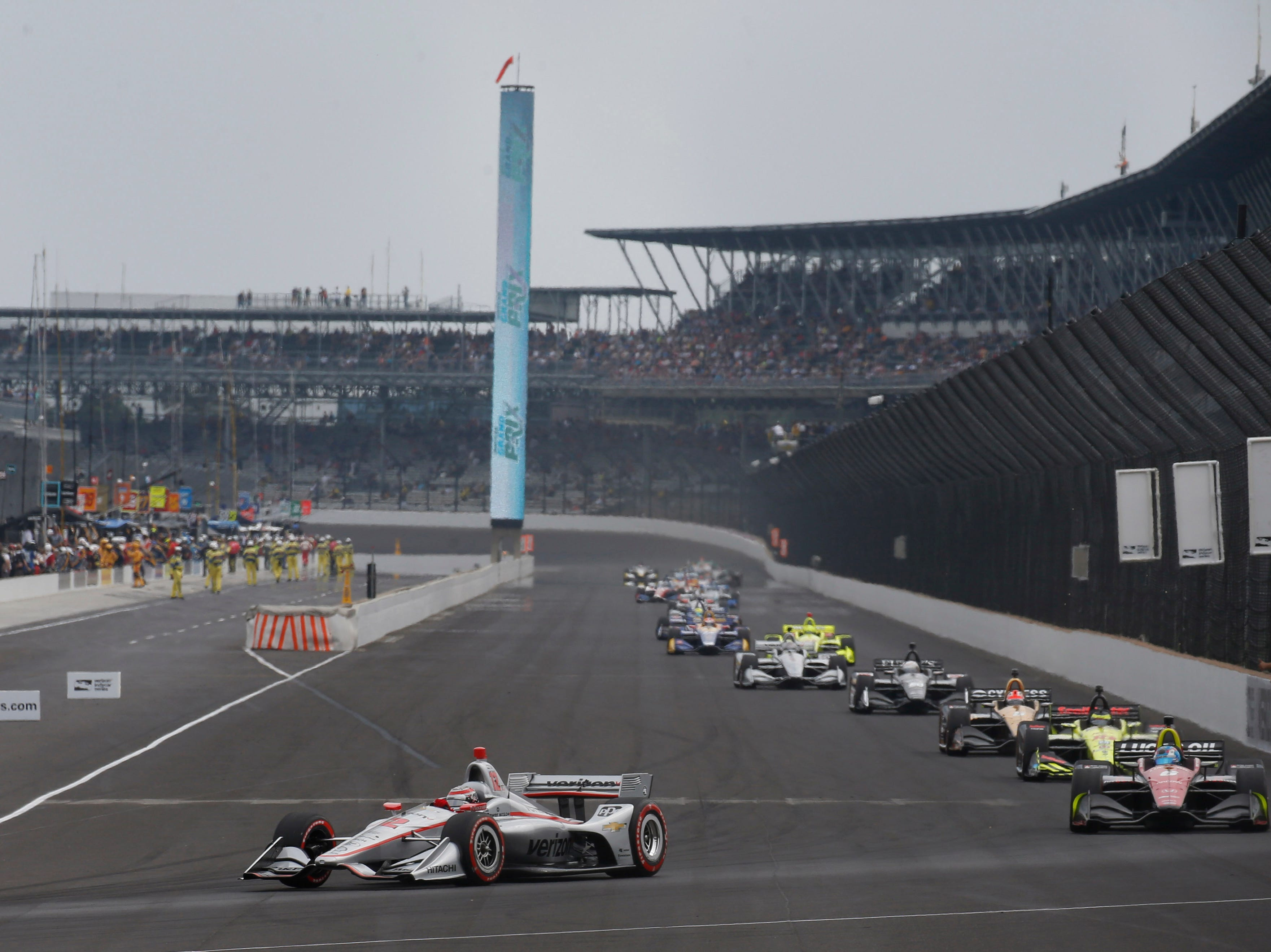 May 11: IndyCar Grand Prix on the road course at Indianapolis Motor Speedway (3 p.m. ET, NBC)
