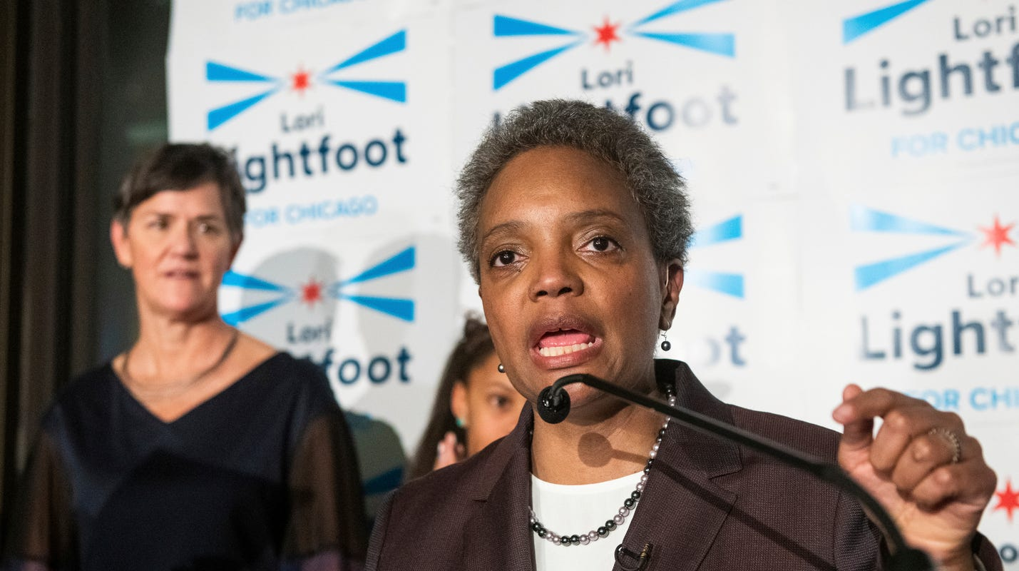 Chicago mayor's race: 2 candidates look to be first black female mayor