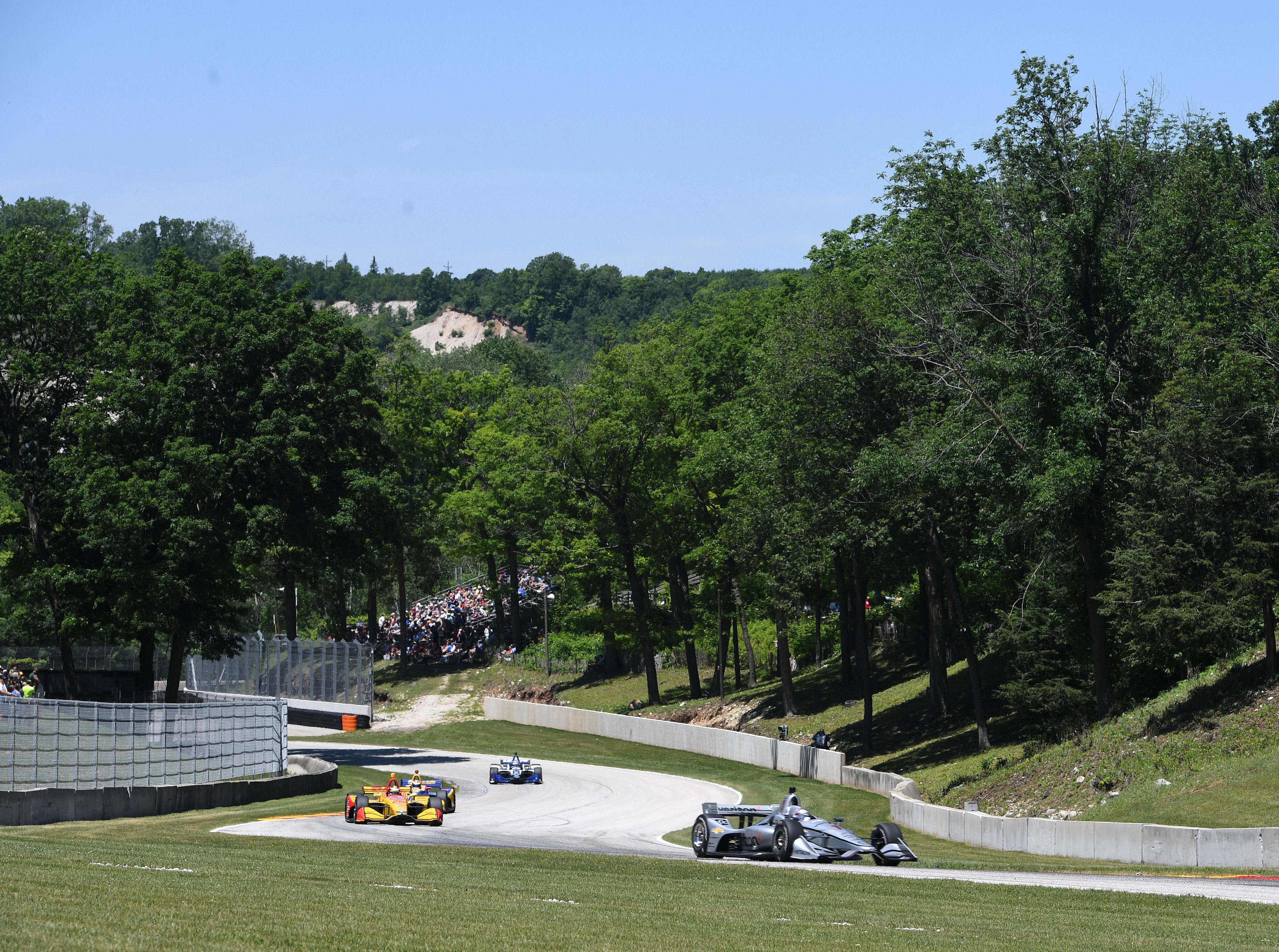 June 23: REV Group Grand Prix on the road course at Road America in Elkhart Lake, Wis. (Noon ET, NBC)