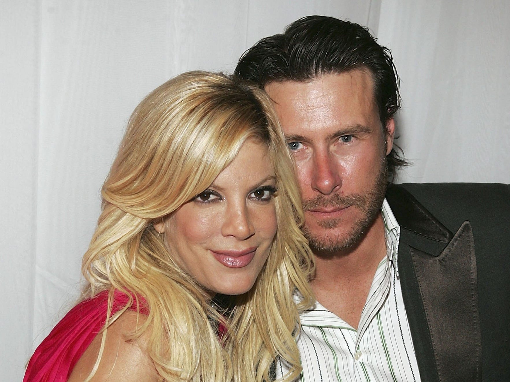 After a two-year marriage to actor Charlie Shanian, Spelling wed Dean McDermott in May 2006.