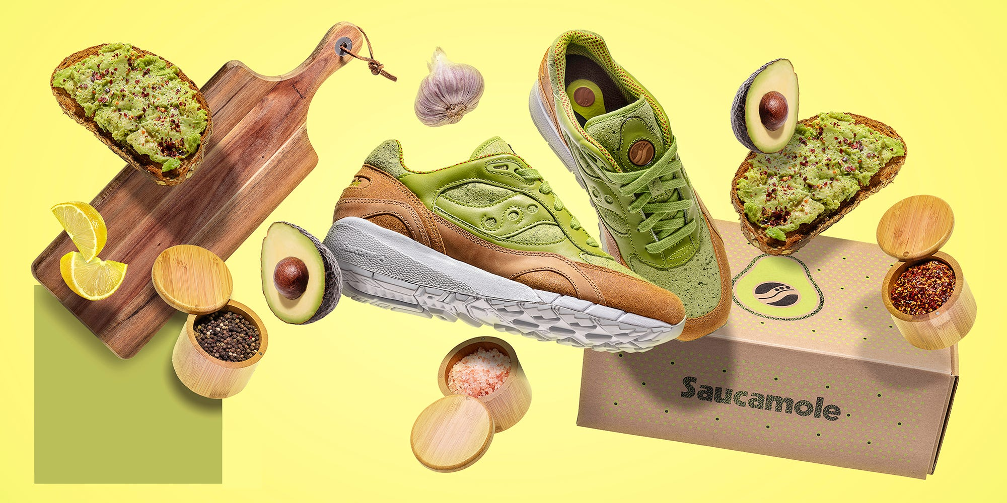 Avocado toast sneakers are a thing