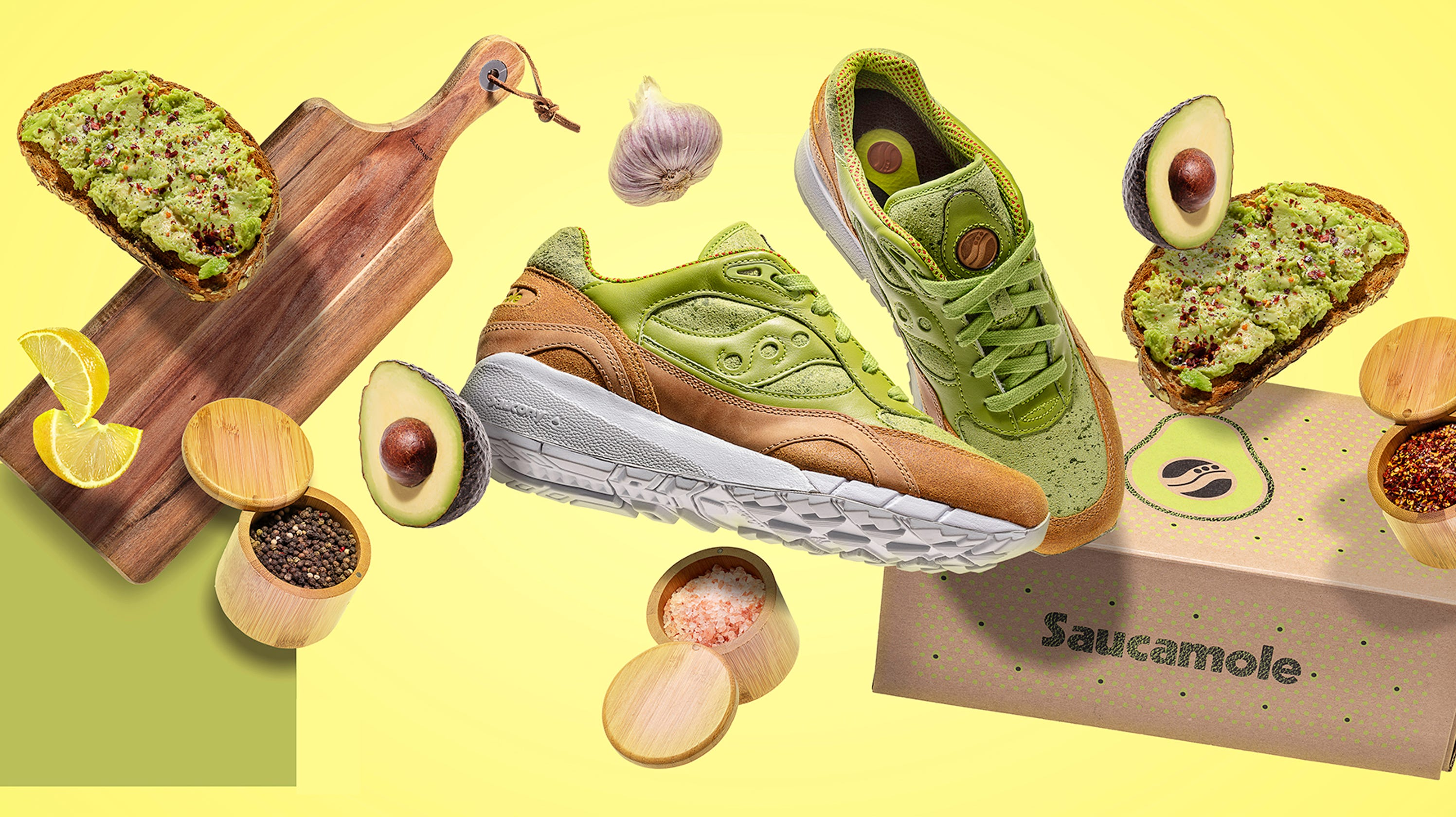 11e7aa13cfb Avocado toast sneakers are a thing
