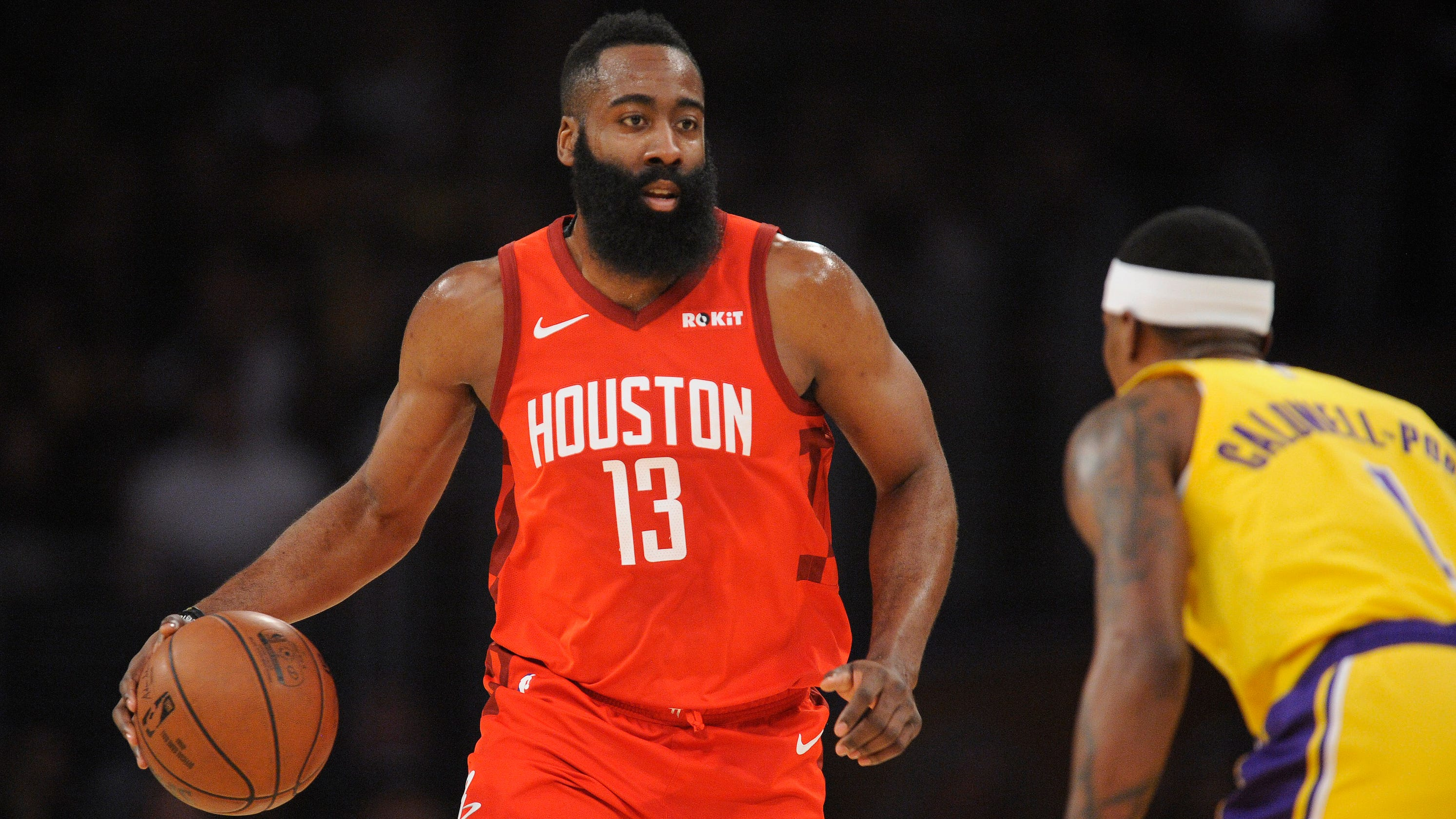 47b1609164f7 Why Rockets star James Harden might be NBA s toughest assignment