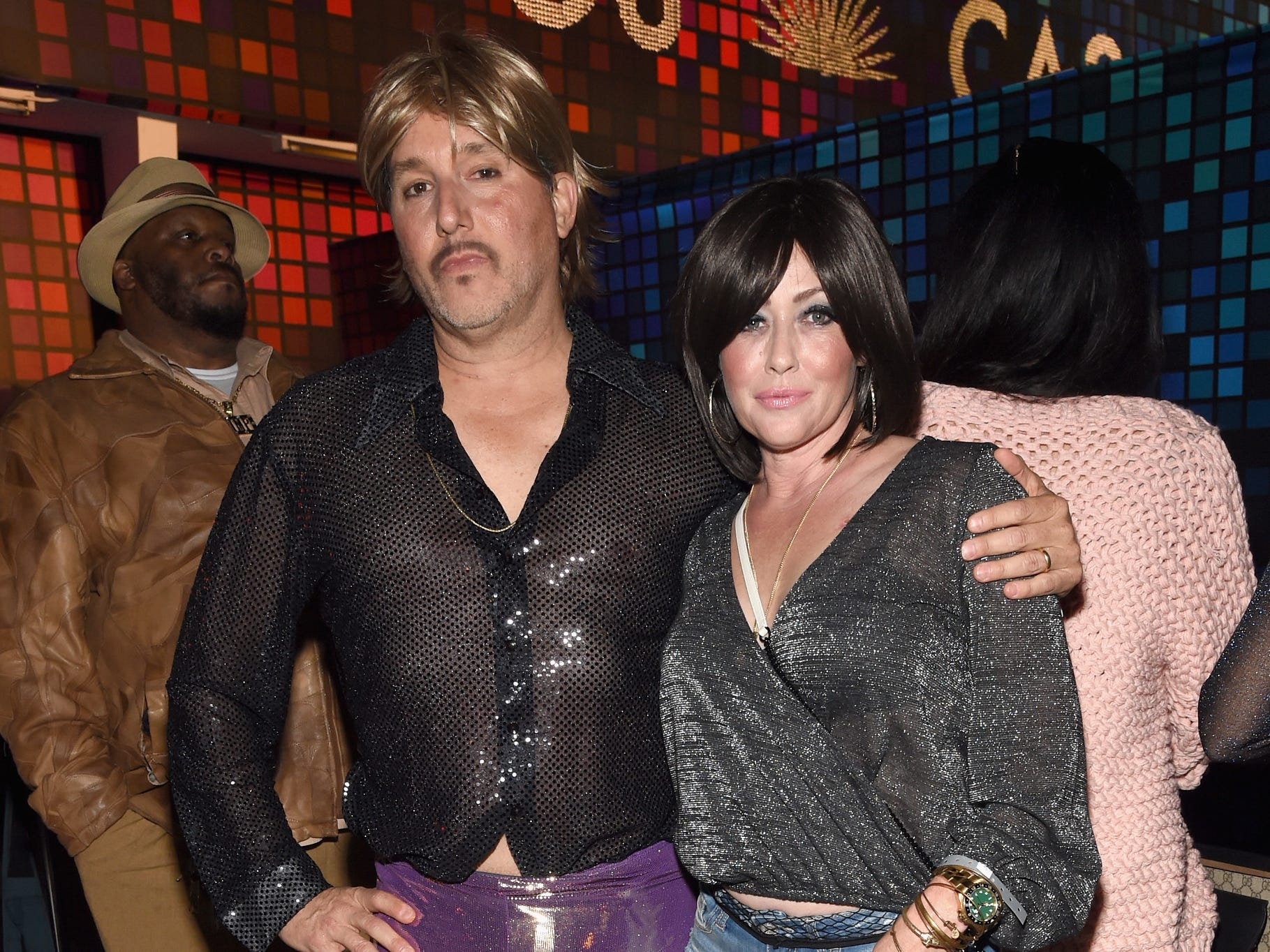 CohenLOS ANGELES, CA - OCTOBER 27:  Kurt Iswarienko and Shannen Doherty attend Casamigos Halloween Party on October 27, 2017 in Los Angeles, California.  (Photo by Michael Kovac/Getty Images for Casamigos Tequila) ORG XMIT: 775038007 ORIG FILE ID: 867296626