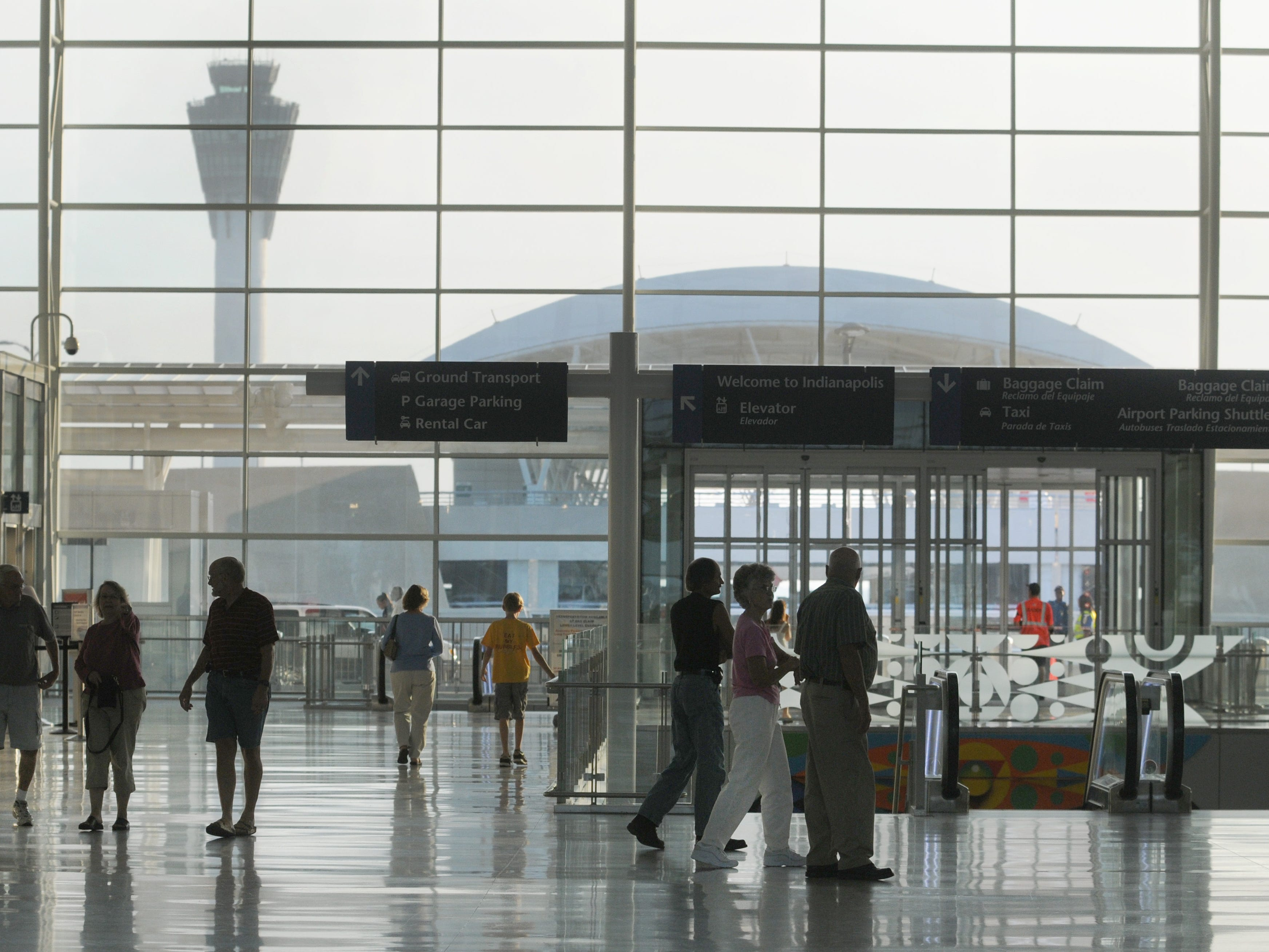 Indianapolis airport breaks passenger record