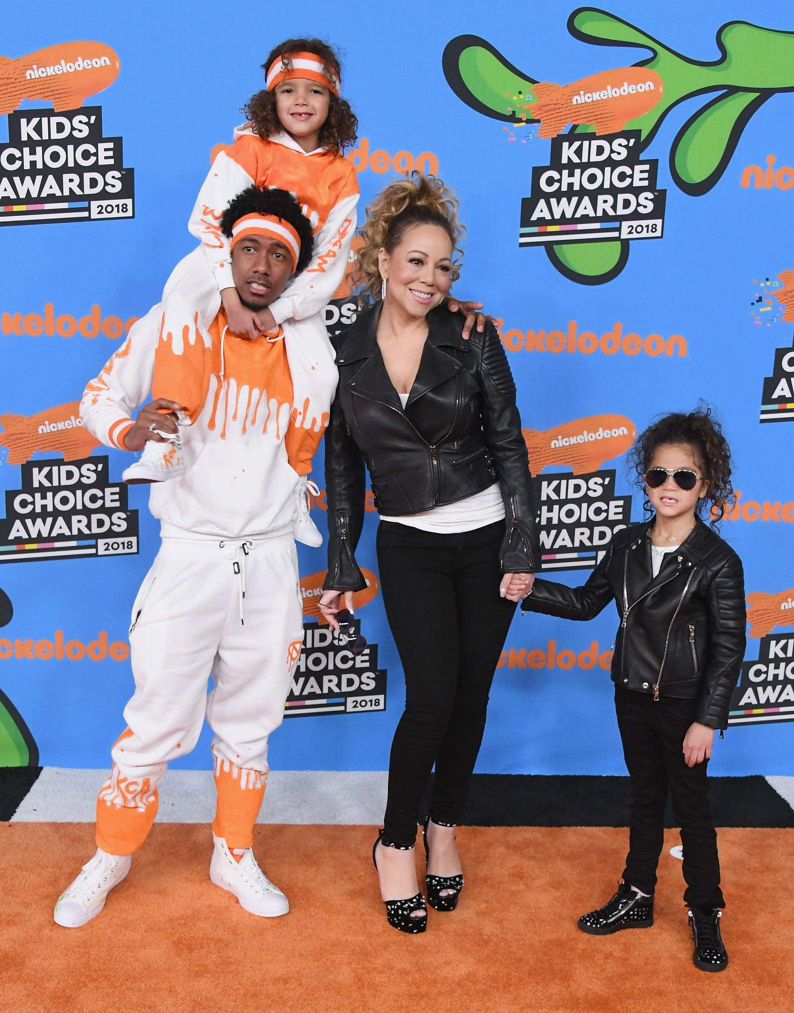 Kids' Choice Awards': Celebrities with their offspring