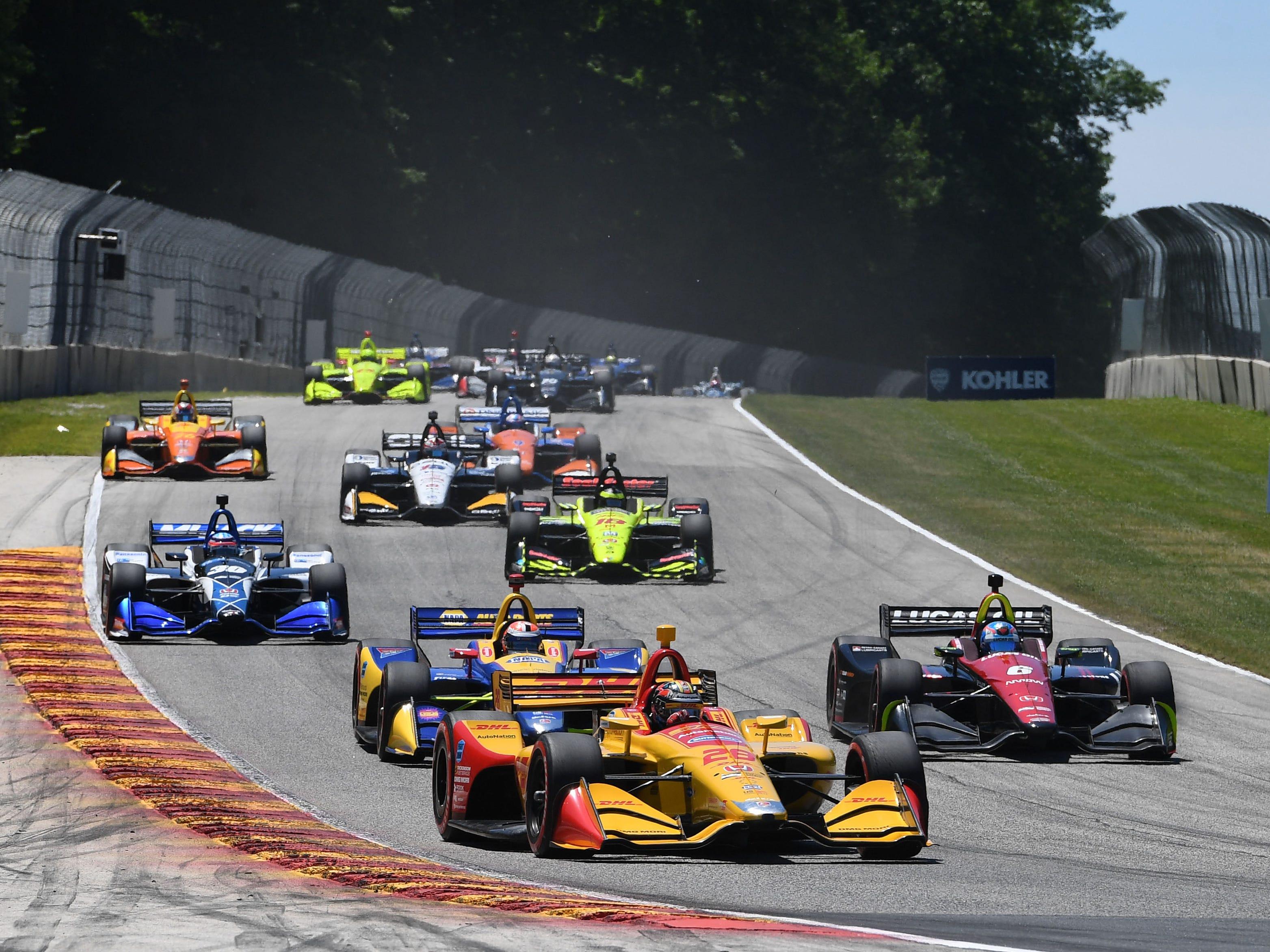 2019 NTT IndyCar Series schedule