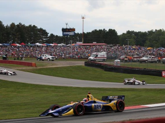 July 28: Honda Indy 200 at Mid-Ohio on the road course at Mid-Ohio Sports Car Course in Lexington, Ohio (3 p.m. ET, NBC)