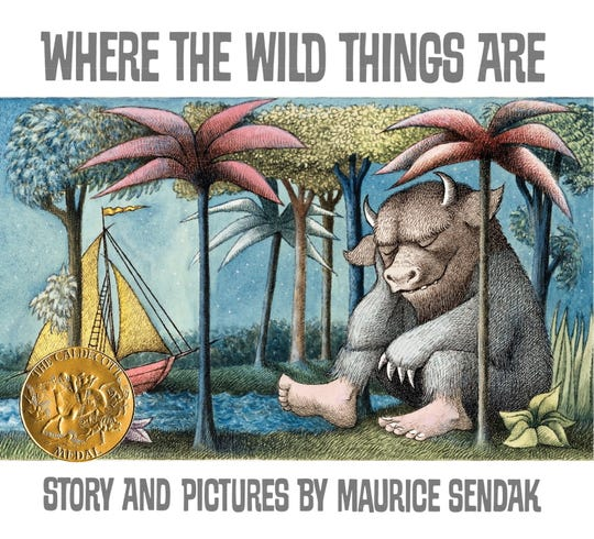 """""""Where The Wild Things Are"""" by Maurice Sendak"""