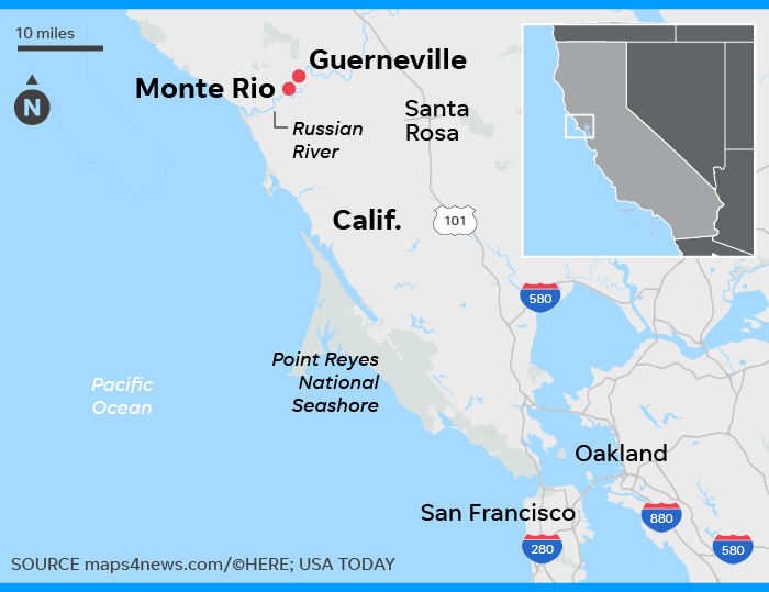 Map Of California Flooding.California Floods Hundreds Flee Their Homes Thousands Refuse