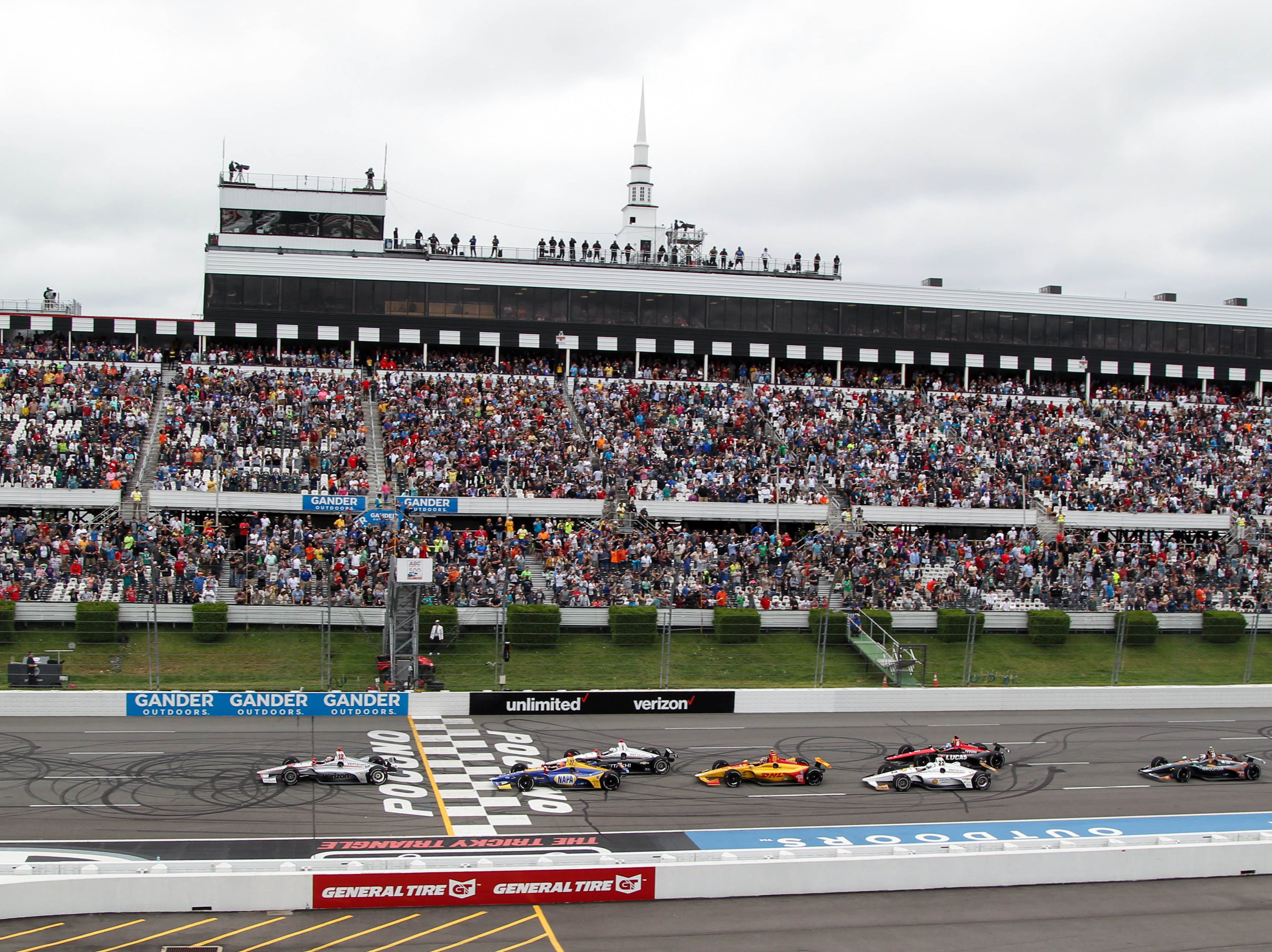 Aug. 18: ABC Supply 500 on the oval at Pocono Raceway in Long Pond, Pa. (2 p.m. ET, NBCSN)