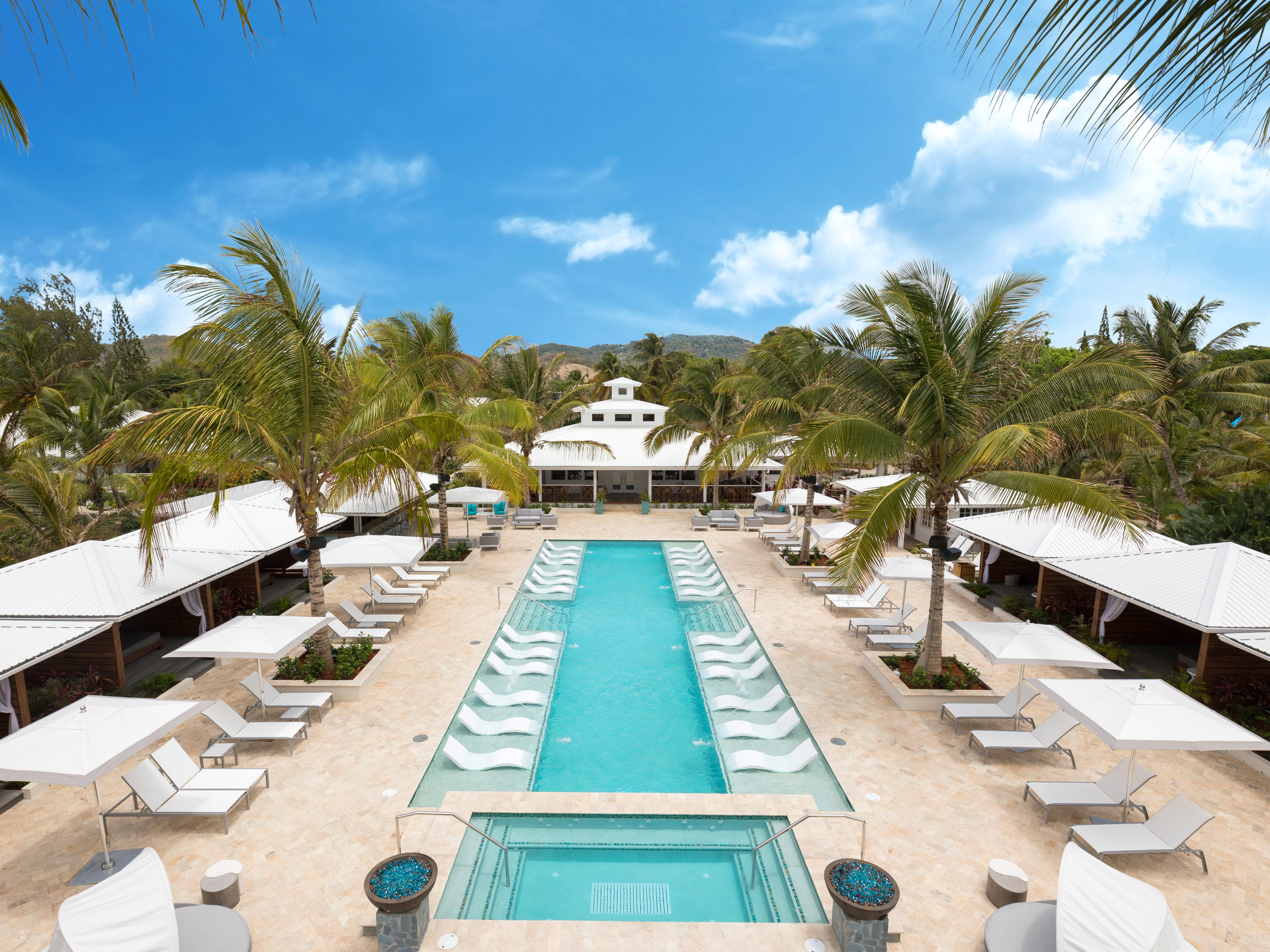 For adults only, Serenity at Coconut Bay is one pool-happy resort on the south coast.
