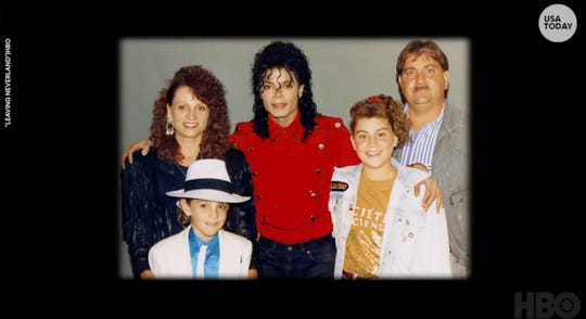 "From the HBO documentary ""Leaving Neverland."""