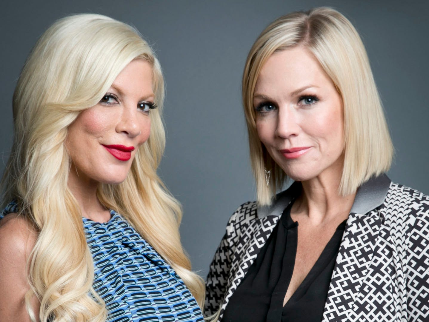 """Garth has maintained her friendship with co-star Tori Spelling, who played West Beverly High classmate Donna Martin for nearly 30 years.  In 2014, they re-teamed for a ABC Family series, """"Mystery Girls."""" Four years later, during the 2018 California wildfires, Spelling publicly thanked Garth for welcoming her family and pets into her home after they were forced to evacuate."""