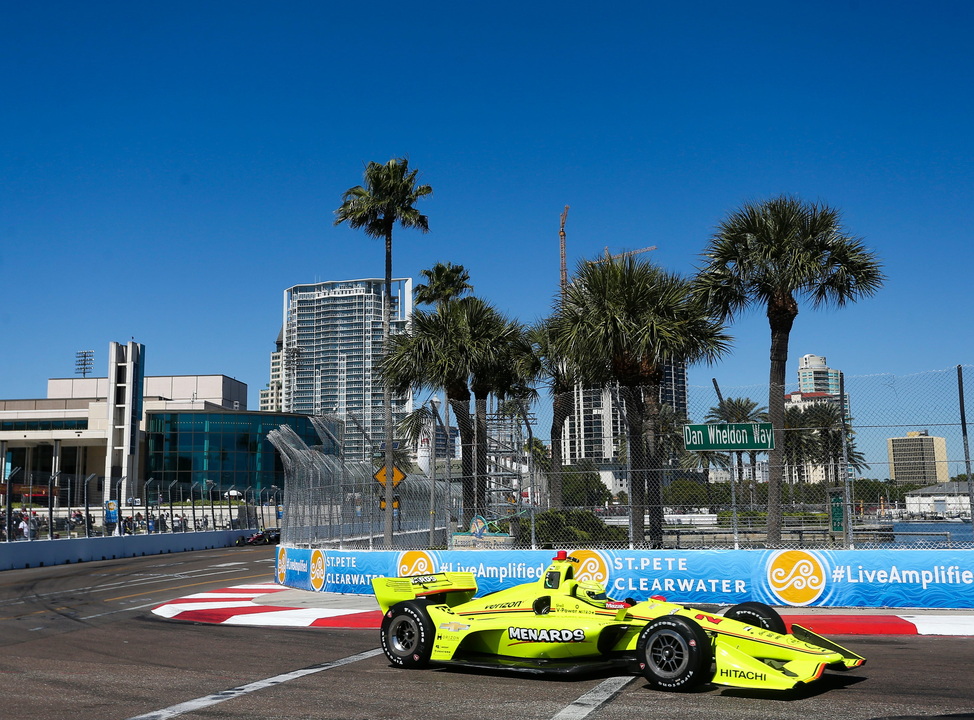 March 10: Firestone Grand Prix of St. Petersburg on the street course in St. Petersburg, Fla. (12:30 p.m. ET, NBCSN)