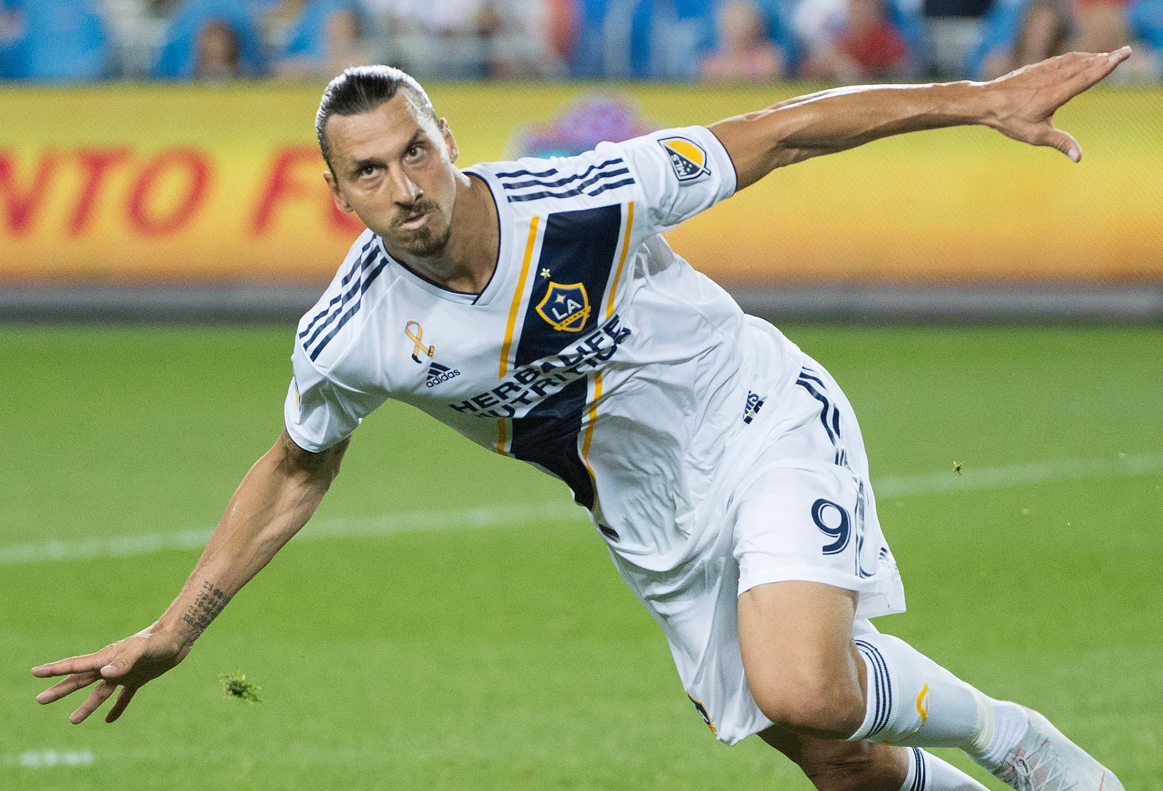 Zlatan Ibrahimovic, scored 22 goals last season, good for second in the league.