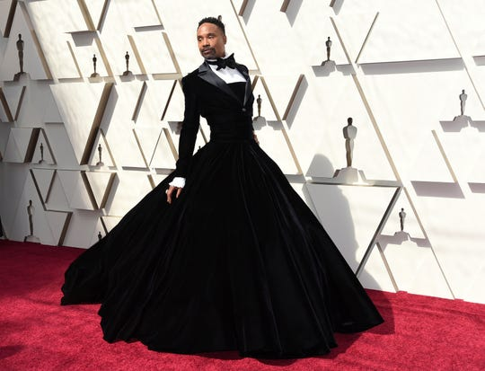 Billy Porter arrives at the Oscars on Sunday, Feb. 24, 2019, at the Dolby Theatre in Los Angeles. (Photo: Richard Shotwell, Richard Shotwell/Invision/AP)