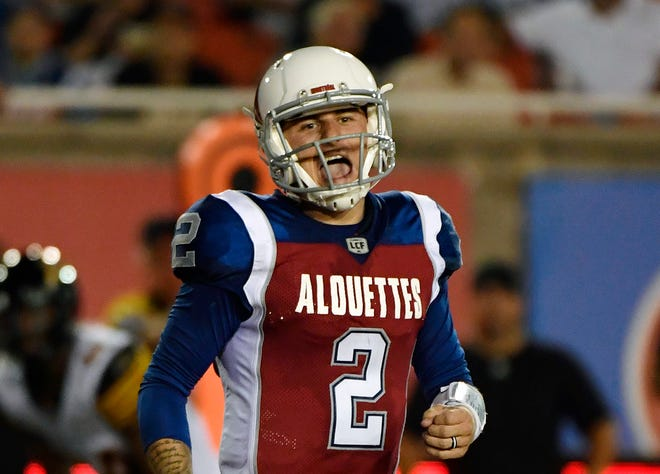 Johnny Manziel told ESPN that he'll play for the new Fan Controlled Football League.