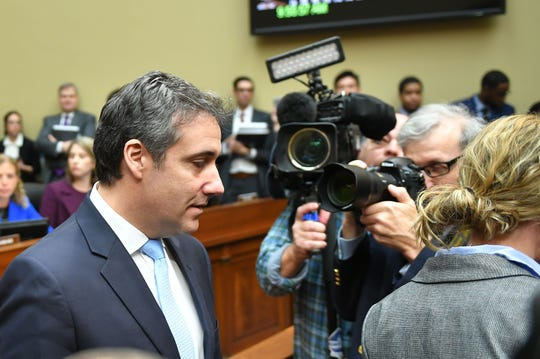 Michael Cohen in Capitol Hill on Feb. 27, 2019.