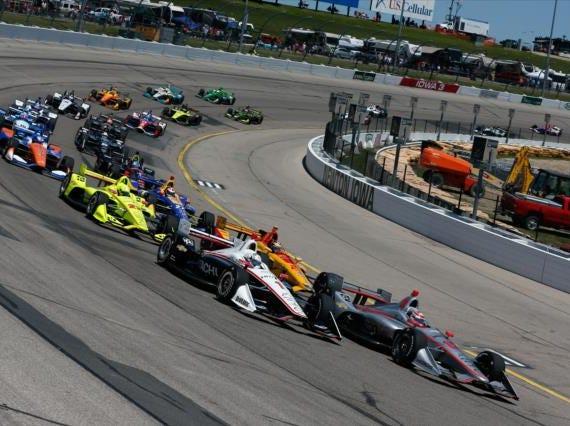 July 20: Iowa 300 on the oval at Iowa Speedway in Newton, Iowa (7 p.m. ET, NBCSN)