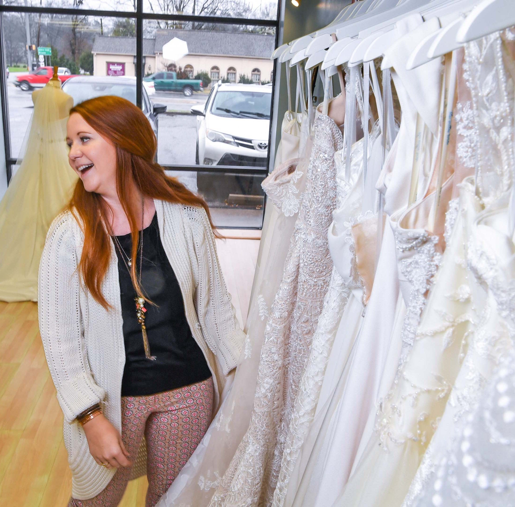Anderson native opens bridal shop to fulfill dream she shared with her late mother