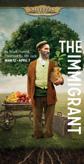 """Mark Harelik's """"The Immigrant"""" at George Street Playhouse, March 12 thru April 7."""