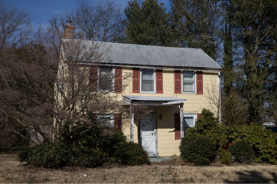 Sgt. George Ashby lived in this house on Waker Avenue, which is now part of Upper Freehold.