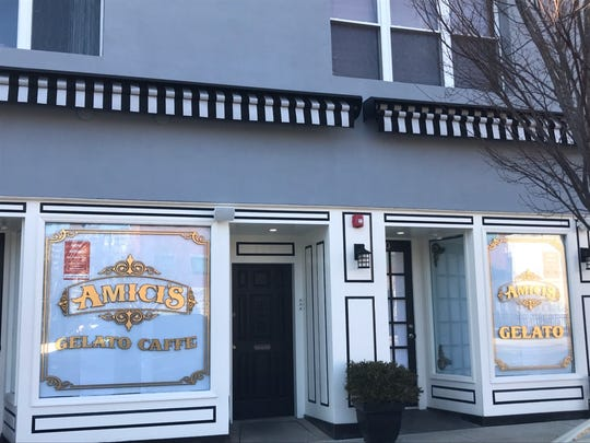 Amici's Gelato Caffe is opening on Mattison Avenue in Asbury Park.