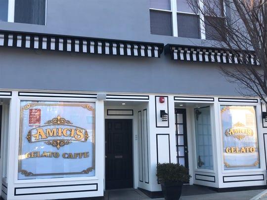 Amici's Gelato Caffe opened last month  on Mattison Avenue in Asbury Park.