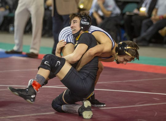 St. John Vianney's Dean Peterson is the top seed at 113 pounds.