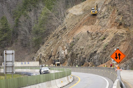 The NC DOT has partially reopened I-40 after a rockslide in Harmon Den closed the highway for nearly a week. It will be May before the interstate is completely reopened.