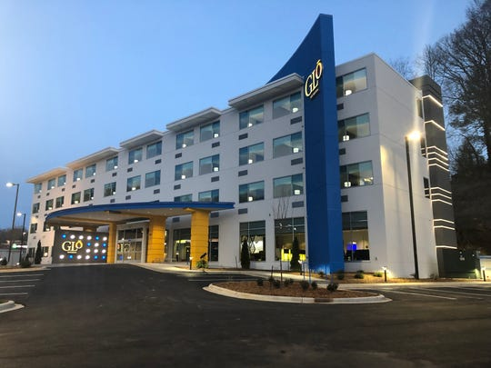 The Glo Best Western Hotel, a new 72-room boutique hotel at 509 Tunnel Road, opened to the public on Thursday, Feb. 28.