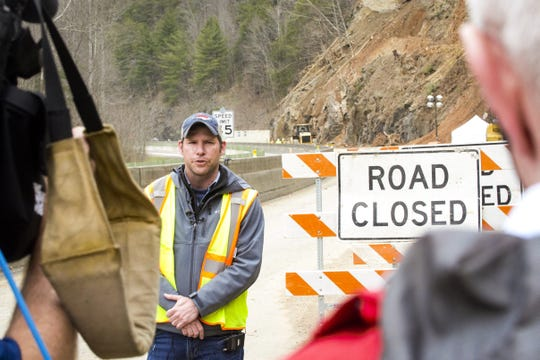 The NC DOT has partially reopened I-40 after a rockslide in Harmon Den closed the highway for nearly a week. It will be April before the interstate is completely reopened.