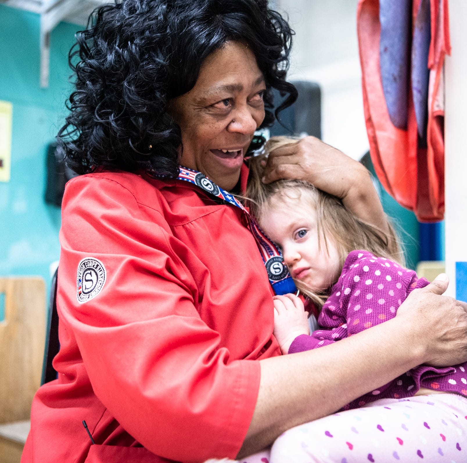 Foster grandparents: Project brings together kids, elders with all the love of real thing