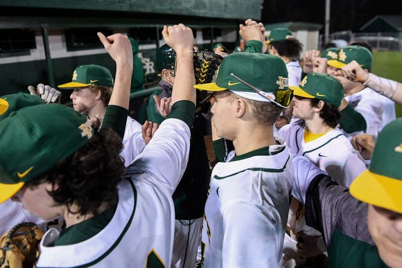 Reynolds hosted Erwin in Fairview Feb. 27, 2019.