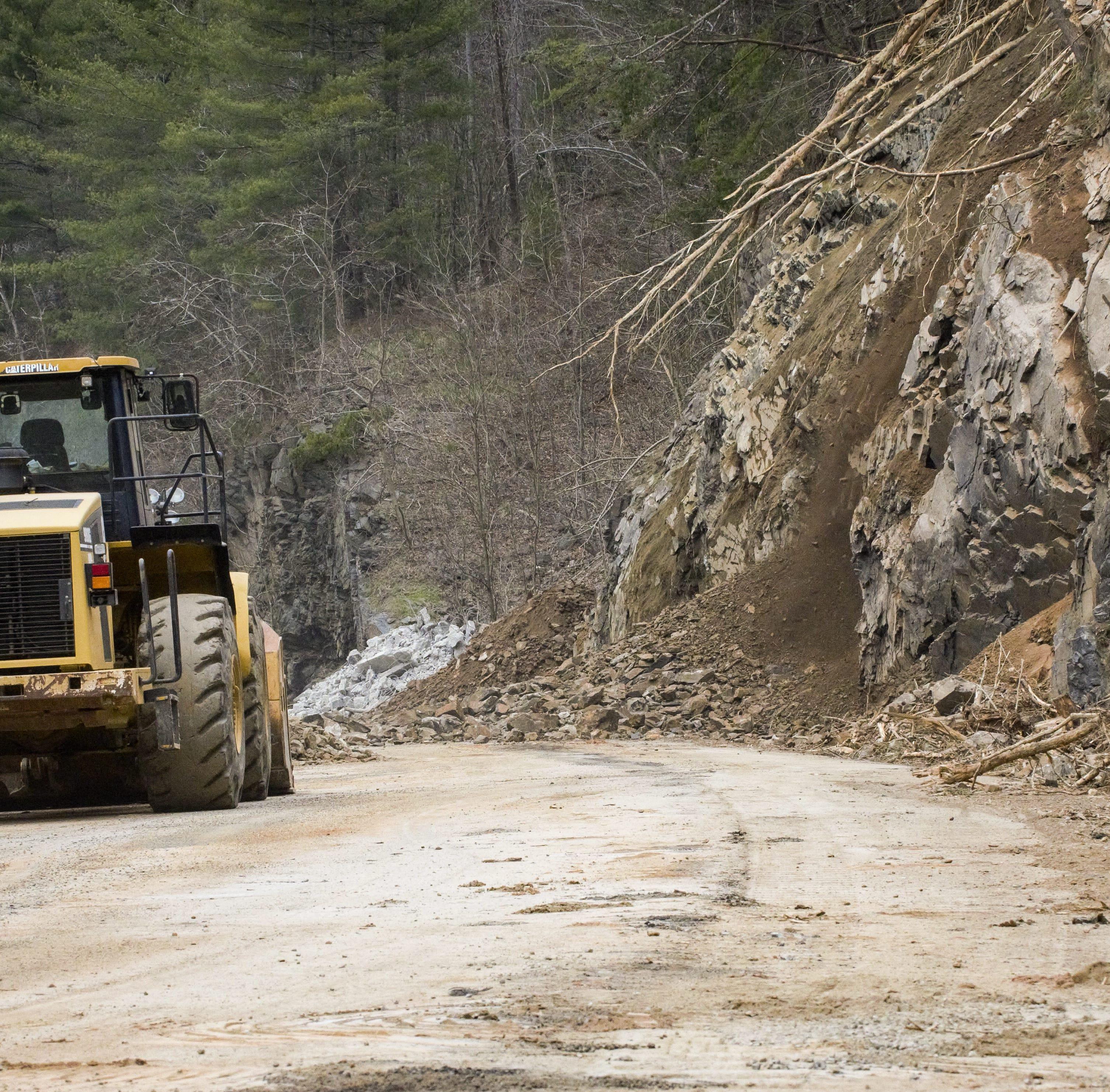 Answer Man: I-40 slide debris destination? Warren Wilson Road ditch work?