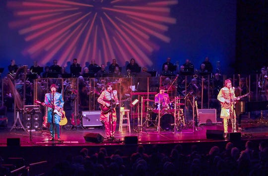 The Classical Mystery Tour will perform alongside the Binghamton Philharmonic  in Binghamton and Ithaca.