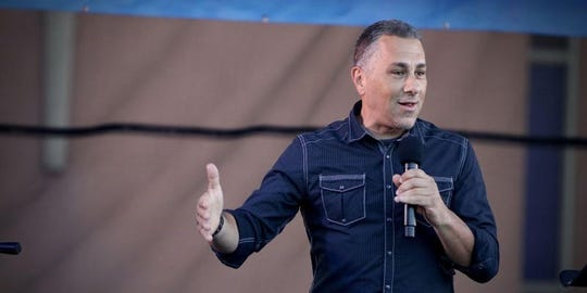 """Author, father and blogger John Pavlovitz will hold an interactive discussion called """"Claiming Your Heart Center in a Broken World"""" on March 15 and 16."""
