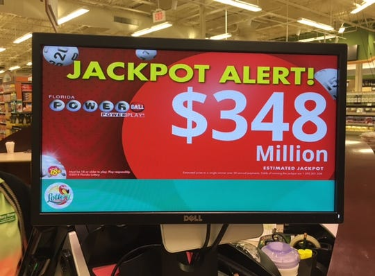 Powerball jackpot continues to climb.