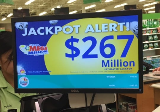 Mega Millions continues to rise.