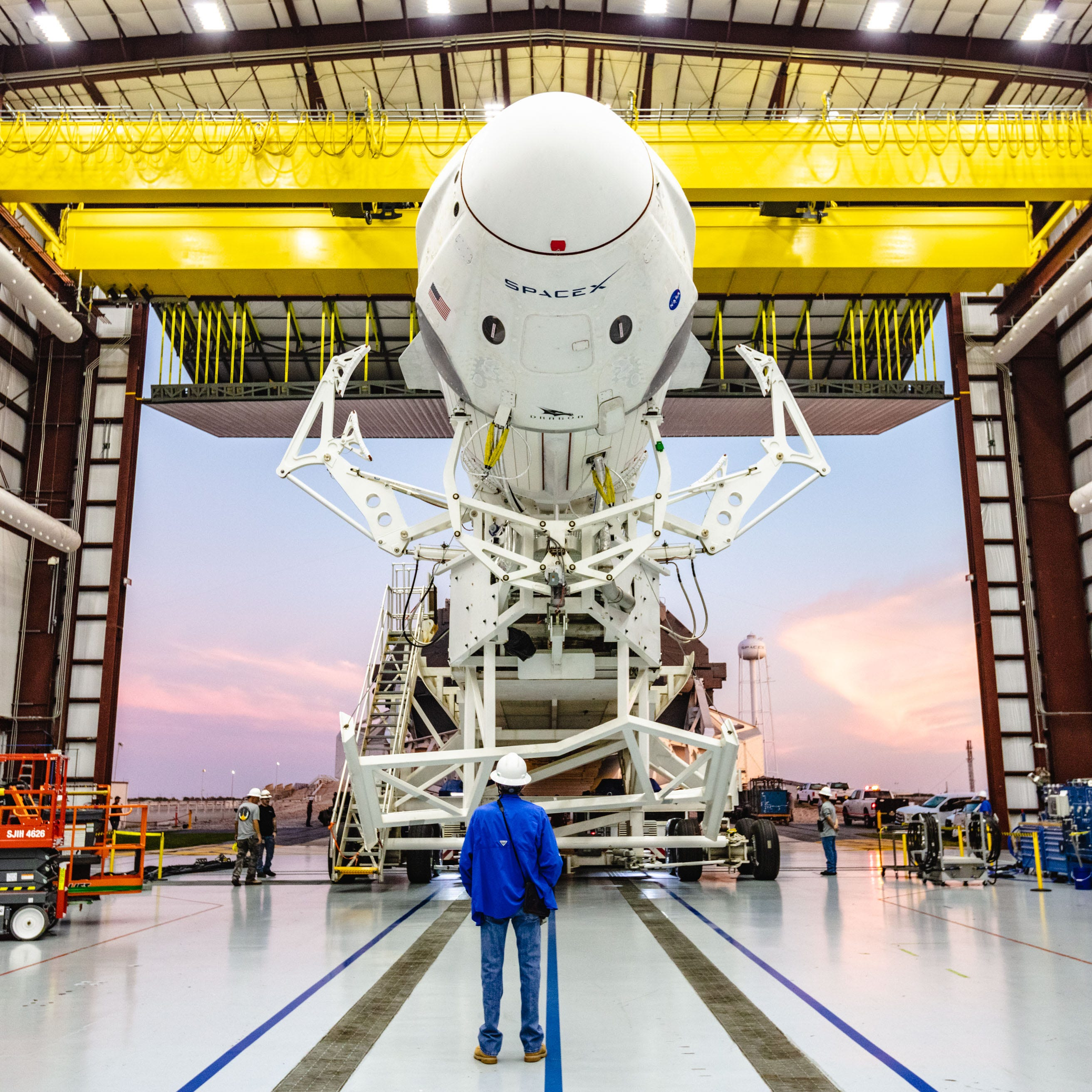 In 'huge day' for KSC, SpaceX set to launch Crew Dragon test flight