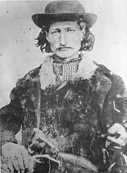 """James Butler """"Wild Bill"""" Hickok was a legendary gambler and gunfighter."""