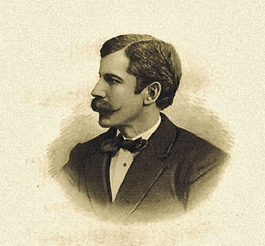"""George Ward Nichols helped found May Festival and the College of Music of Cincinnati, and also wrote the article that launched the legend of """"Wild Bill"""" Hickok."""