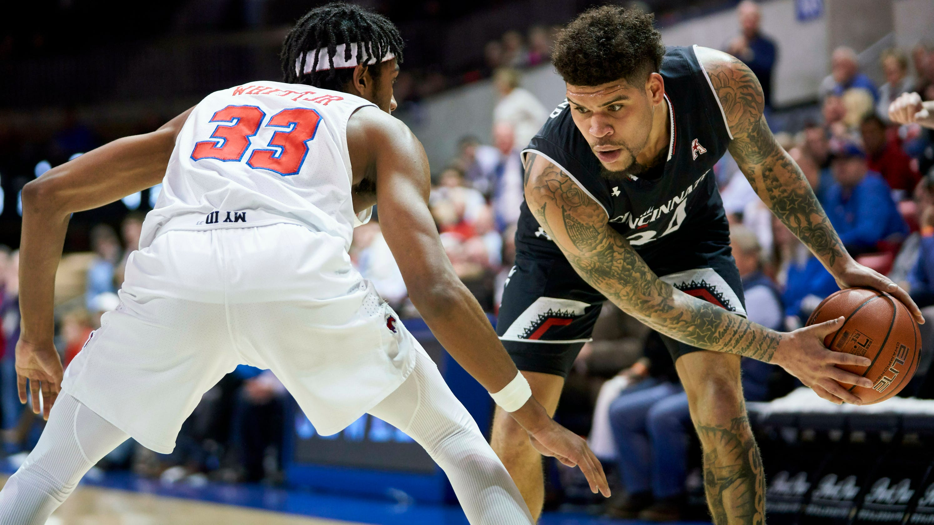 Uc Finishes Off Tough Road Swing At Smu With An Ugly Victory
