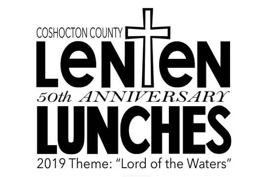Lenten Luncheons 50th anniversary logo