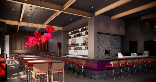 Wasabi Asian Grill & Lounge will open in Ankeny in May 2019.