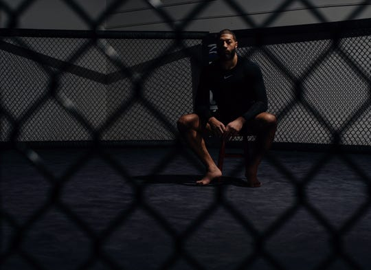 Royce White -- alone in the MMA cage