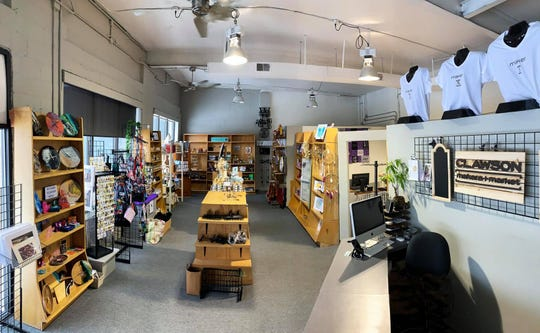 At Clawson Makers Market, owner Bonnie Swope has curated 35 local artisans to set up a retail spot showcasing their craft, along with a work space where the artisans mingle, teach workshops and in some cases, let customers use their equipment to create.